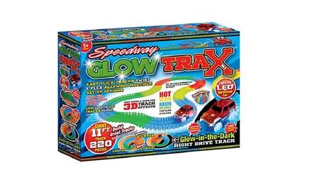 Speedway Glow Trax Race Set