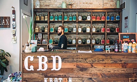 $15 for $30 Worth of Products or Services at CBD Kratom Shops