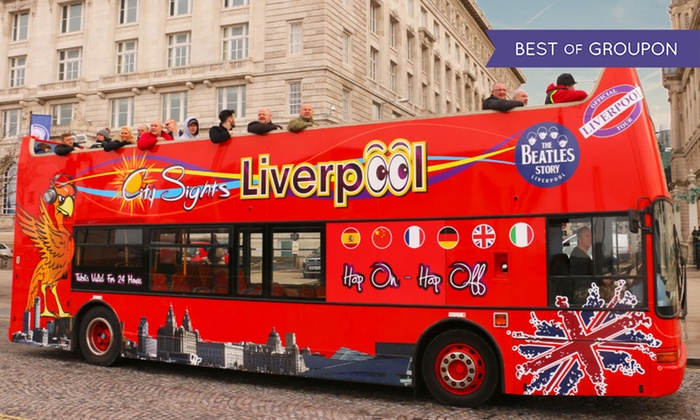 Liverpool Tour Bus Hop On Hop Off