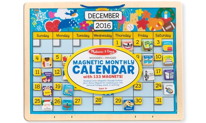 melissa doug magnetic responsibility chart or calendar livingsocial