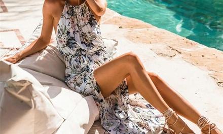 1 ou 2 robes maxi légères Bohème Bianca