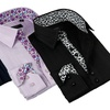Coogi Luxe Men's Patterned-Trim Dress Shirts