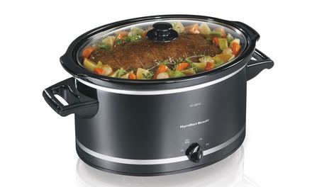 Hamilton Beach 8Qt. Extra-Large Slow Cooker (Manufacturer Refurbished)