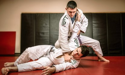 image for One Month of Unlimited Jiu-Jitsu Classes at Redemption Fight Team/ Renzo Gracie BJJ (Up to 81% Off)