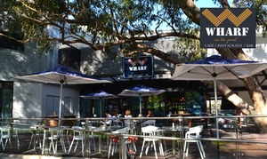 Wharf on the Point: Lunch Meal for 1 ($15), 2 ($29), 4 ($58), 6 ($85), 8 ($112) or 10 People ($139) at Wharf on the Point (Up to $340 Value)