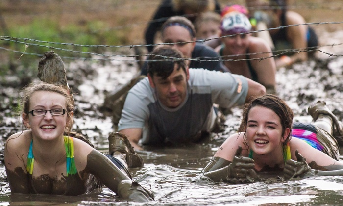 Sharkarosa Mud Run - Pilot Point: $29 for Admission to the Sharkarosa Mud Run 5K Kangaroo Mud Hop on Saturday, July 18 ($50 Value)
