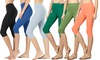 "Women's 15"" Cotton Capris (6-Pack). Plus Sizes Available."