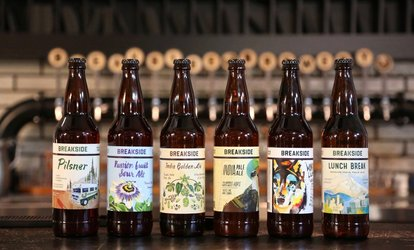 image for Brewery Package for Two or Four, or VIP Tasting Package for Two at Breakside Brewery (Up to 48% Off)