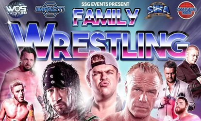 Scottish Wrestling Alliance: Family Wrestling, Balcony Tickets, Friday 26 October (Up to 56% Off)
