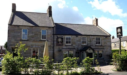 Amble: 1 to 3 Nights for Two with Breakfast, wine and Optional Dinner at The Wellwood