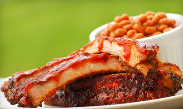 Fatso's Sports Garden - Inspiration Hills: Barbecue Meal or $19 for $40 Worth of Barbecue at Fatso's Sports Garden