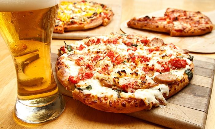 Hologram Artes - ISSO: Menu pizza completo con ingresso all'area giochi per bambini per 2, 4 o 6 persone al ristorante Hologram Artes