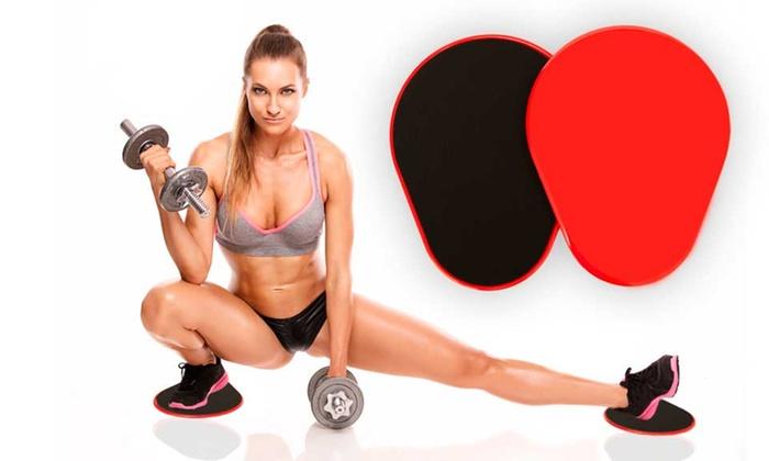 Dischi antiscivolo per il fitness