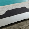 AC Pacific Latex-Foam Mattress Topper with Cool-Gel Layer