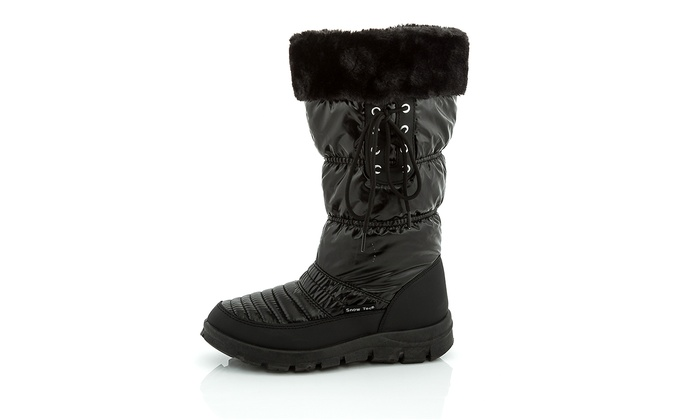 Clearance: Snow Tec Frost-8 Women's Snow Boots (Size 5) | Groupon