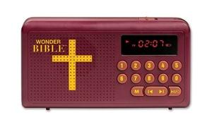Wonder Bible Audio Player