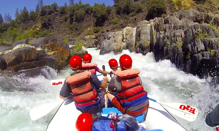 H2O Adventures - North El Dorado: Half- or Full-Day Rafting Trip for Two or Four from H2O Adventures (Up to 45% Off)