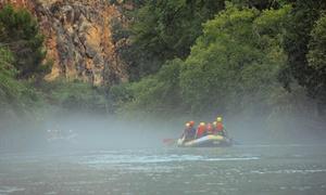 """CANYON & CANYON: Rafting en """"Cañón de Almadenes"""" con vídeo HD y reportaje fotográfico para 1 o 2 desde 16,90€ Cañón y Cañón Multiaventura"""