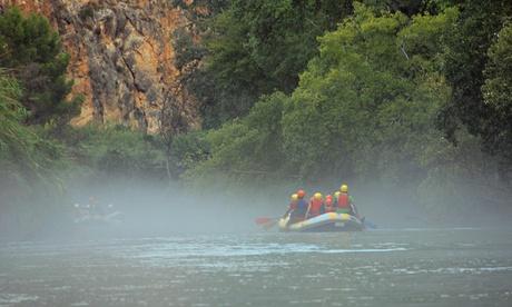 """Rafting en """"Cañón de Almadenes"""" con vídeo HD y reportaje fotográfico para 1 o 2 desde 16,90€ Cañón y Cañón Multiaventura"""
