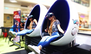 "Vride-סימולטור מציאות מדומה: משחק מציאות מדומה בחיפה, פ""ת ורחובות: חוויה חושית אדירה ב-29 ₪ ל-2 סיבובים או 169 ₪ כולל משקפי מציאות מדומה לשימוש ביתי"