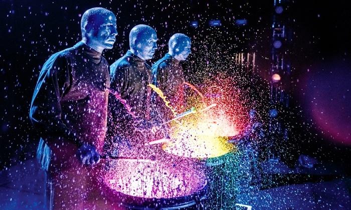 Resultado de imagem para blue man group
