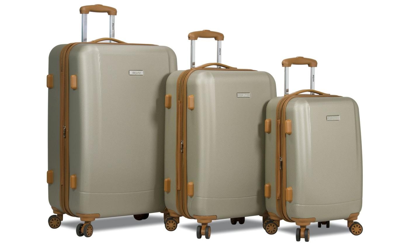 Dejuno Legion Hardside Spinner 3-Piece Luggage Set