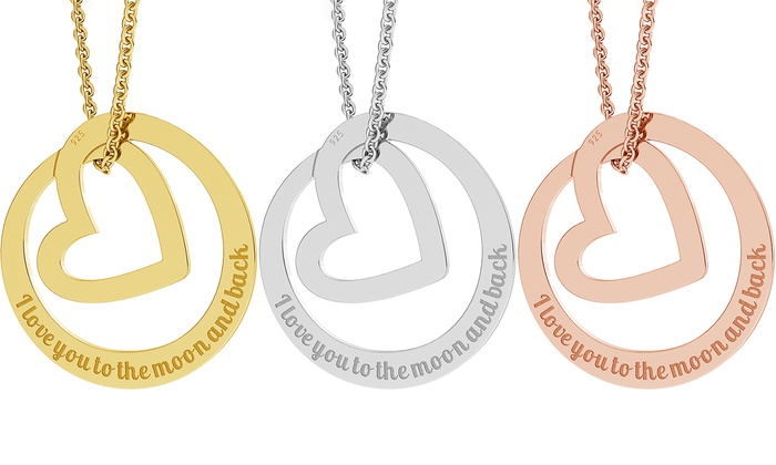 Up to 91 off personalized circle of love necklaces groupon jewellshouse personalized circle of love necklaces from jewellshouse up to 91 off aloadofball Choice Image