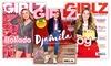 6 of 12 nummers GIRLZ magazine