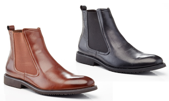 Henry Ferrera Men's Chelsea Boots: Henry Ferrera Men's Chelsea ...