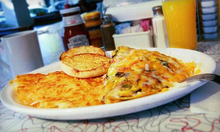 Hubcaps Diner - Downtown Walnut Creek: $12 for $24 Worth of Diner Food and Drinks at Hubcabs Diner in Walnut Creek