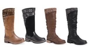 Muk Luks Women's Rider Tall Boots