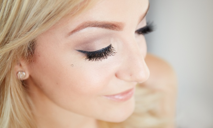 Makeup by Oz - Home Park: Full Set of Eyelash Extensions at Makeup by Oz (50% Off)