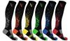 XTF Unisex Pixel Knee-High Compression Socks (6 Pairs)