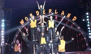 Gran Circo Wonderland: Entrada para niño o adulto al espectáculo del Gran Circo Wonderland del 26 de mayo al 3 de junio por 6 € en Murcia