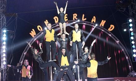 Entrada para niño o adulto al espectáculo del Gran Circo Wonderland en Benidorm del 26 de abril al 6 de mayo por 6 €