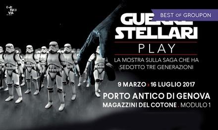 Guerre Stellari - Play: fino al 16 luglio a Genova