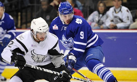 Toronto Marlies Hockey Game at Ricoh Coliseum or Air Canada Centre (Up to 35% Off). Six Options Available.