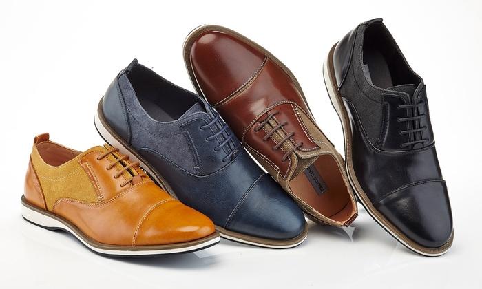Franco Vanucci Men's Oxford Dress Shoes