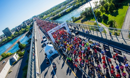 Entry to the Rock 'n' Roll Oasis 5K, 10K, Half-Marathon or Marathon Races in Montreal on Sep 23 or 24 (Up to 23% Off)