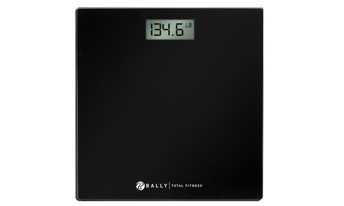 Up To 50% Off on Bally Digital Bathroom Scale | Groupon Goods