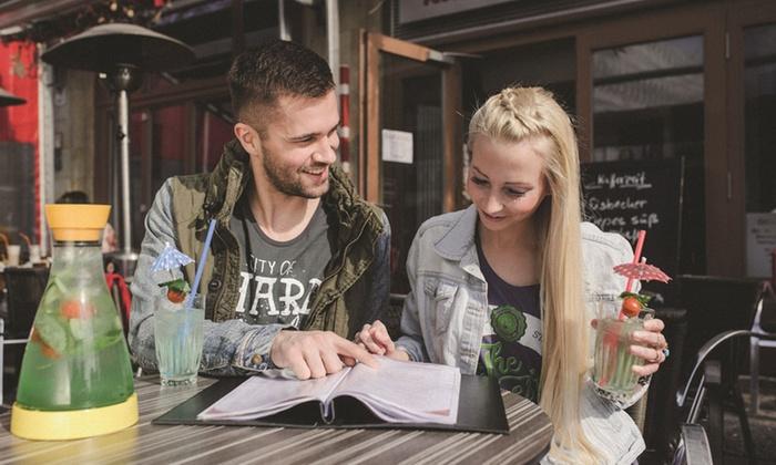Cafe Flair - Magdeburg: Cocktail oder Longdrink inkl. Nacho-Teller für 2 oder 4 Personen im Cafe Flair (bis zu 35% sparen*)