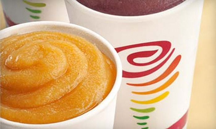 Jamba Juice - Multiple Locations: $5 for $10 Worth of Smoothies, Juices, and Other Healthy Foods at Jamba Juice