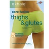 """""""Exhale: Core Fusion – Thighs & Glutes"""" Fitness DVD"""
