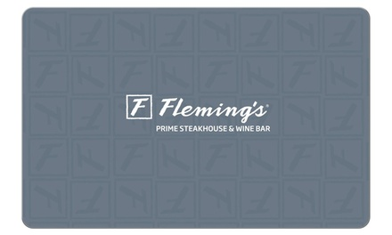 groupon.com - $50 eGift Card toFleming's Prime Steakhouse & Wine Bar ($5 Off)