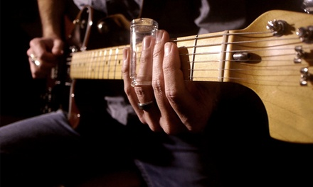 $19 for One Year of Online Guitar Lessons from Center Stage Guitar Academy ($108 Value)