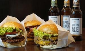 Soupreme Better Burger: Burger nach Wahl oder Burger-Menü inkl. Getränk für 1 oder 2 Personen bei Soupreme Better Burger (bis zu 52% sparen*)