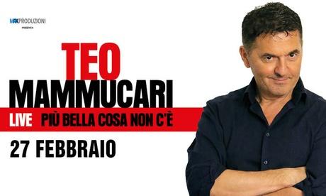 Teo Mammucari, Più bella cosa non c'è – Il 27 febbraio al Teatro Nazionale CheBanca a Milano (sconto fino a 40%)