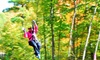 Northwoods Zip Line Adventure Tours - Suamico: Tours at Northwoods Zip Line Adventure Tours (Up to 20% Off). Two Options Available.