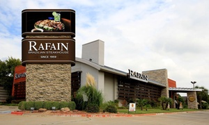 Up to 37% Off Dinner for Two or Four at Rafain at Rafain, plus 6.0% Cash Back from Ebates.