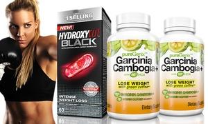 PureGenix Garcinia Cambogia (2-Pack) and Hydroxycut Black